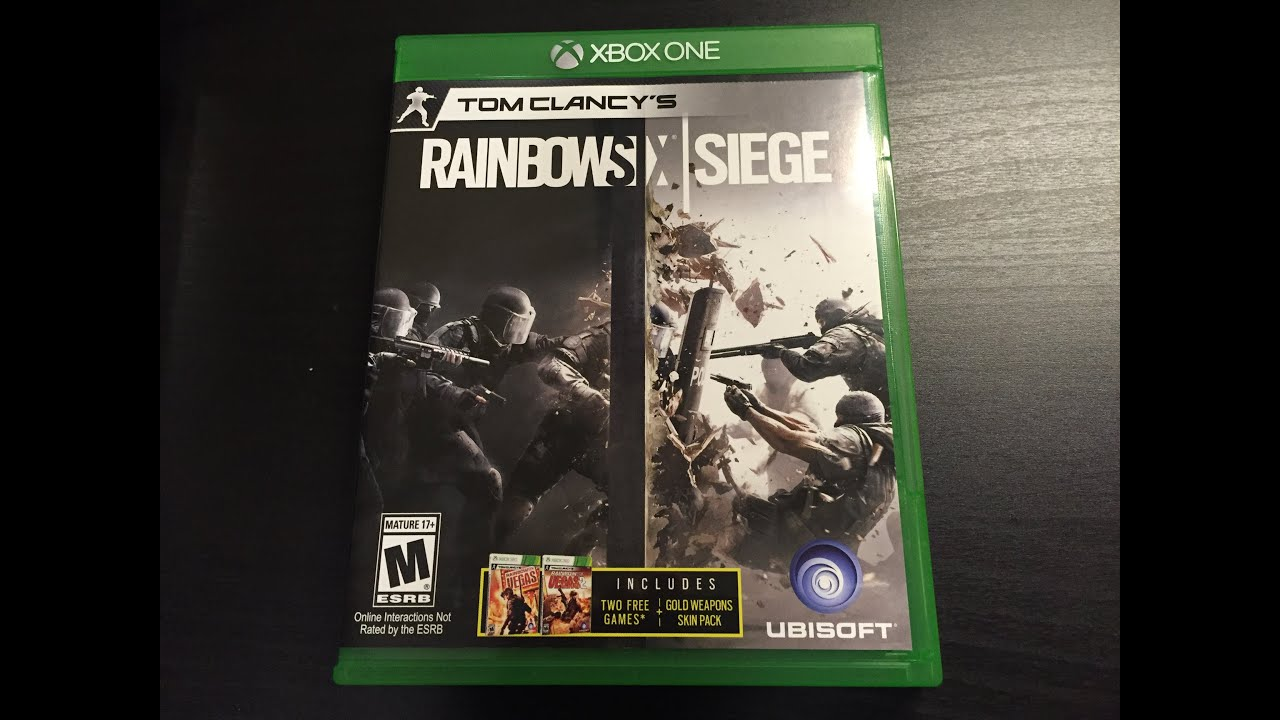 rainbow six siege xbox one unboxing youtube. Black Bedroom Furniture Sets. Home Design Ideas