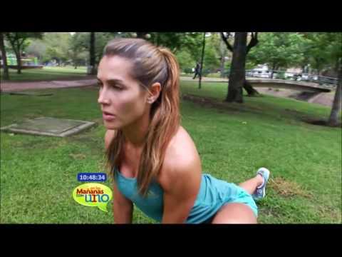 Isabel Cristina Estrada se prepara para correr la Media Maratón de Bogotá
