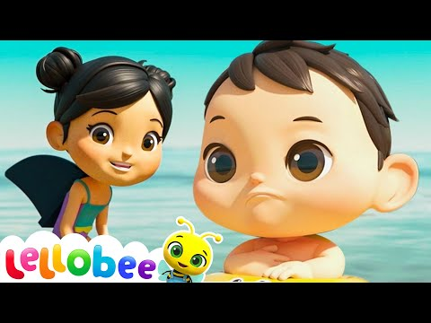 Learn To Swim Song | NEW SONG | Nursery Rhyme & Kids Song -ABCs and 123s | Little Baby Bum