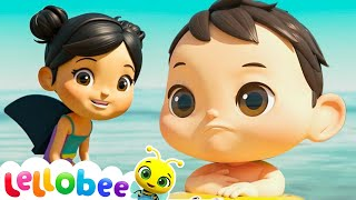 Learn To Swim Song with Baby Max | Brand New Nursery Rhymes & Kids Songs ABC & 123 | Little Baby Bum