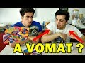 JELLY BEAN BOZZLED vs REAL FOOD !! CHALLENGE SUPER SCÂRBOS w/Florentin Hriscu