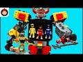 Mega Construx Power Rangers Mighty Morphin Megazord Playset Unboxing Toy Video w Red Ranger Battle