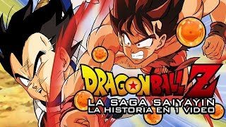 Dragon Ball Z Saga Saiyayin: La Historia en 1 Video
