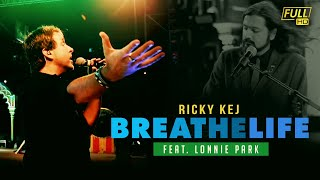 "Ricky Kej Feat Lonnie Park ""Breathe Life"" LIVE in Vizag, India"