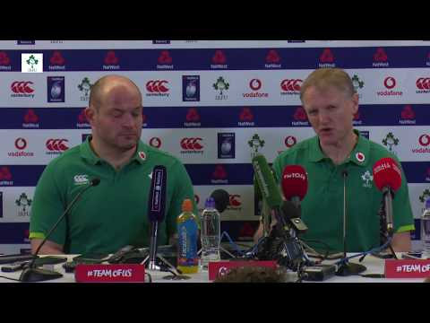 Irish Rugby TV: Ireland v Scotland Post-Match Press Conference