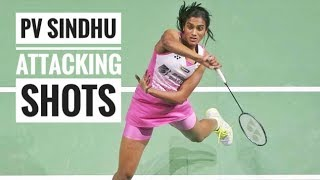 Pv Sindhu best attacking shots