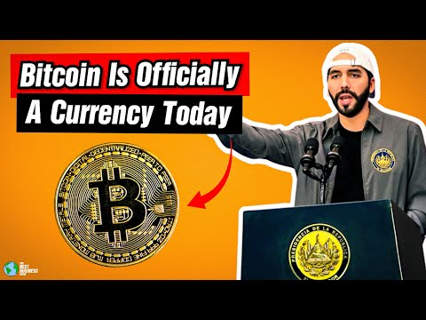 Bitcoin Is Officially A Currency Today.