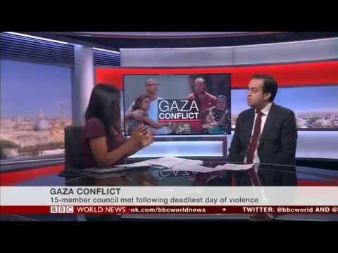 Barak Seener Interview on Hamas-Israel Conflict, BBC World, 21st July 2014