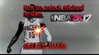 How to unlock Michael Jordan in NBA 2K17 Mobile