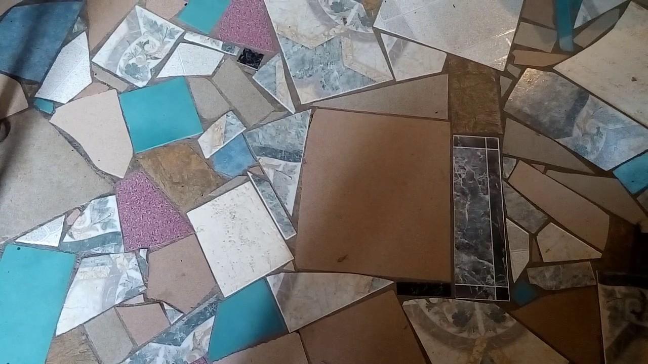 Мозаика из плитки своими руками дорожки