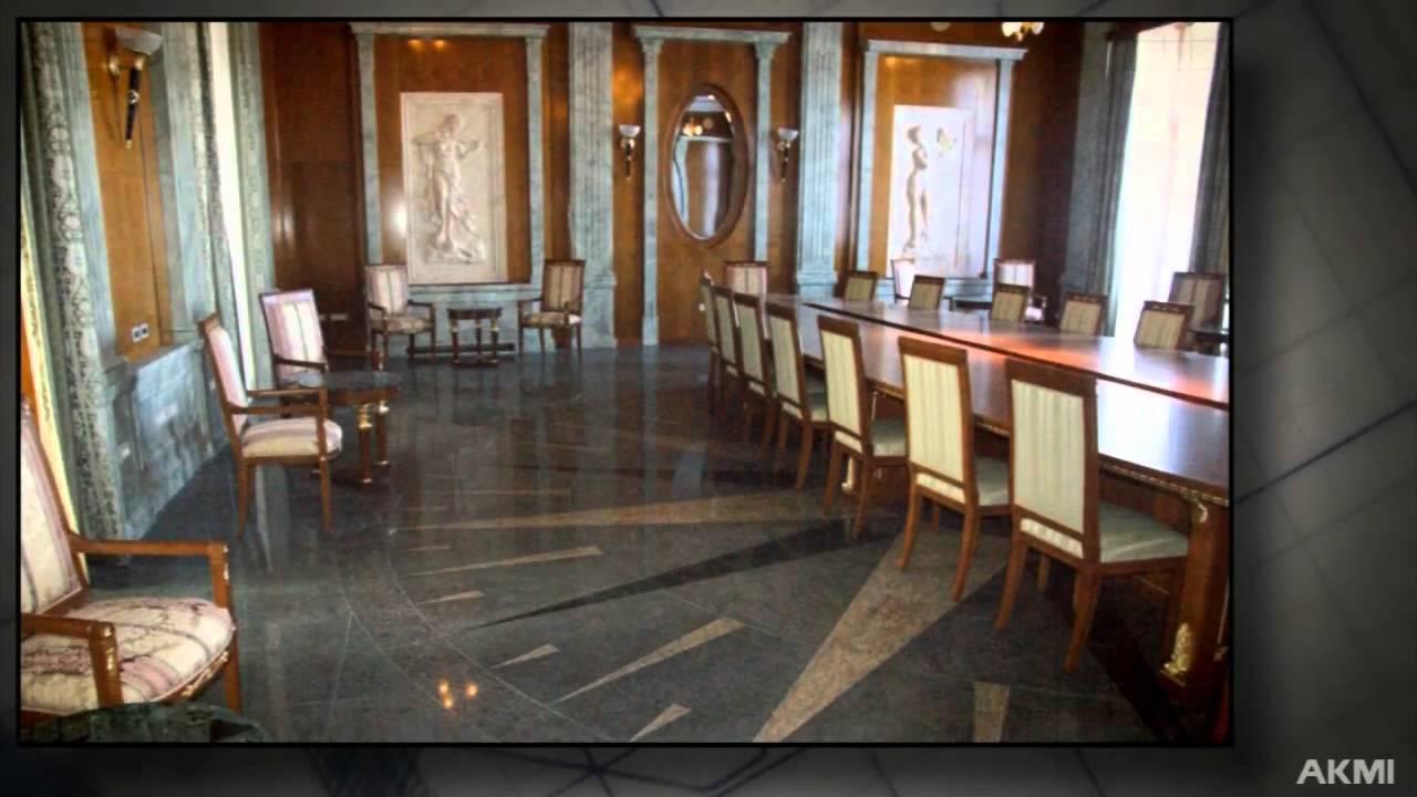 Interior design, stone interior, interior decor with ...