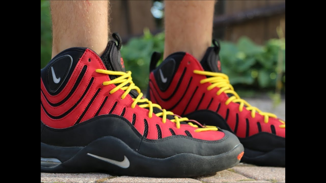 fcd76785cb37 Nike Air Bakin - On Foot Review - YouTube