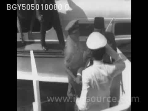 Presiden Sukarno berkunjung  ke Irian Barat bulan mei 1963