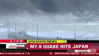 Japan Earthquake 8.9 Tsunami hits (11 March 2011)
