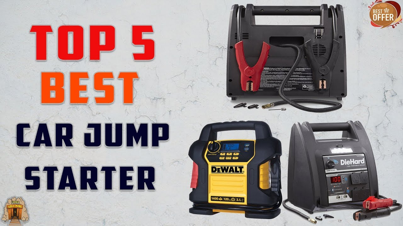 Top 5 Best Car Jump Starters You Can Buy In 2019