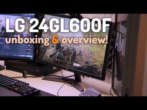 LG 24GL600F Overview! - The ULTIMATE Budget 144hz Gaming Monitor For 2019