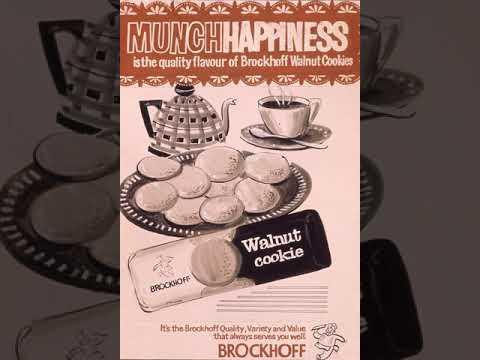 Brockhoff Walnut Cookie