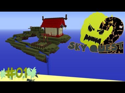 Minecraft Agrarian Skies - Sky Quest - Staffel 2 | Balui & Dhalucard & Earli