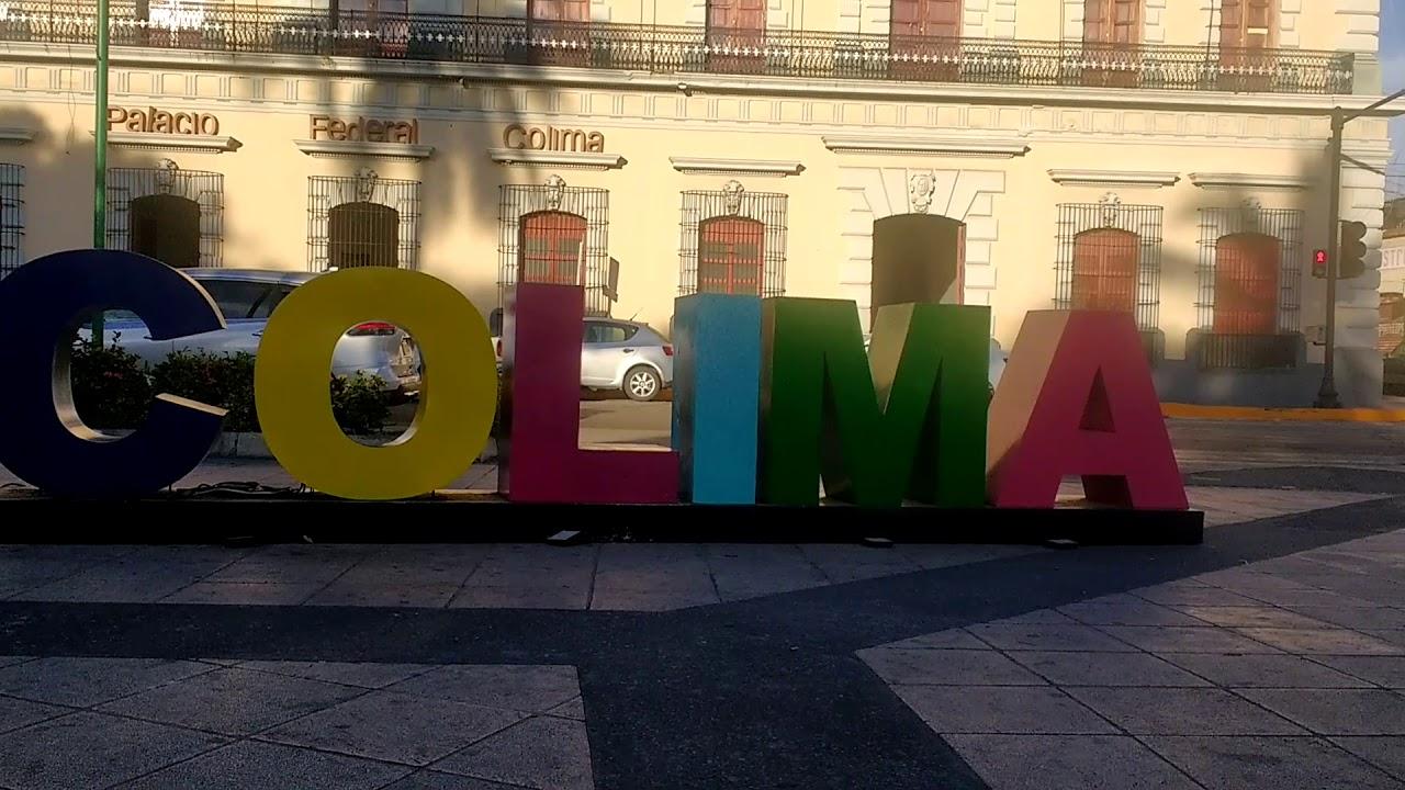 Letrero de la Ciudad de Colima