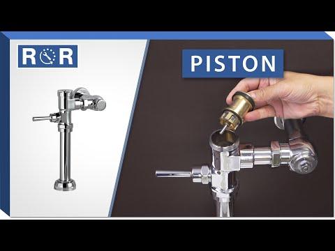 American Standard Manual Flushometer   Piston   Repair And Replace