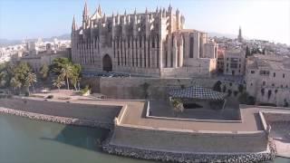 Palma Cathedral - Mallorca  Drone