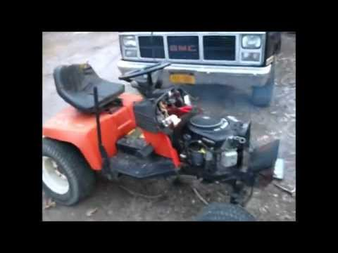 Bringing My Simplicity Garden Tractor Back To Life