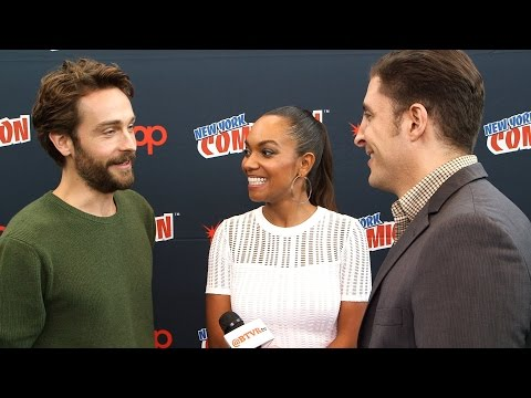 Tom Mison and Lyndie Greenwood on
