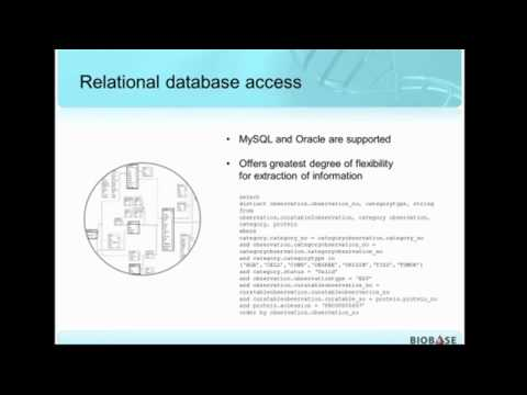 API and Relational Database Access to Disease, Gene and Drug Content