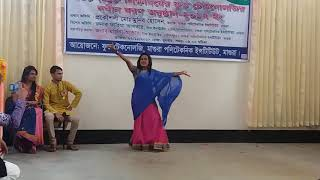 Mone rong legeche Bosonto aseche  Bangla Stage dance
