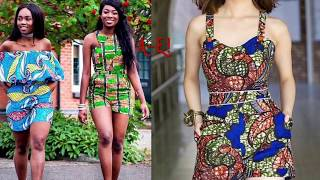 Fashion Trends 2017 | African-print Jumpsuit and Romper 💕