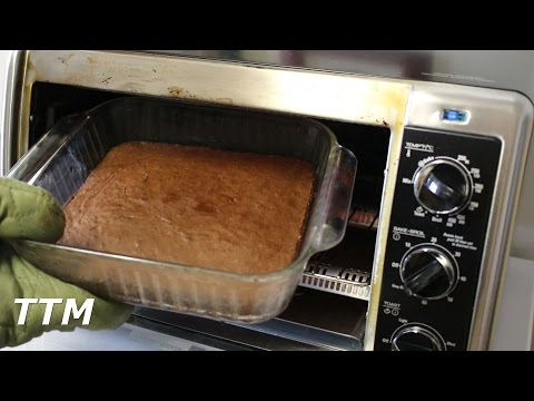 Baking Chocolate Fudge Brownies in the Big Kids Easy Bake Oven (Toaster Oven)