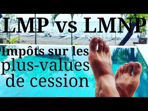 LMP Vs LMNP : Impôts Sur Les Plus-values De Cession