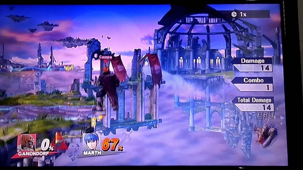 Download Smash 4 Mod: Ganondorf's new back air