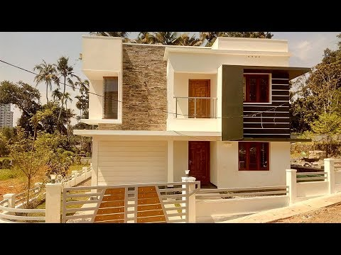 Modern new House for sale 4 cent 1450 sqft 3 bhk cute house(Updated Video-Price Slashed)