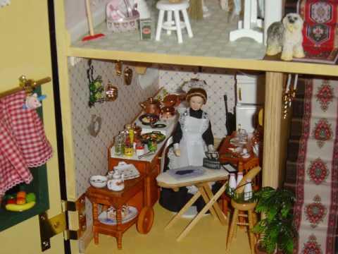 Casa de mu ecas miniaturas youtube - Casas miniaturas para construir ...