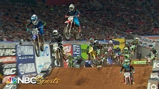 Supercross Round #9 in Atlanta | 450SX EXTENDED HIGHLIGHTS | Motorsports on NBC
