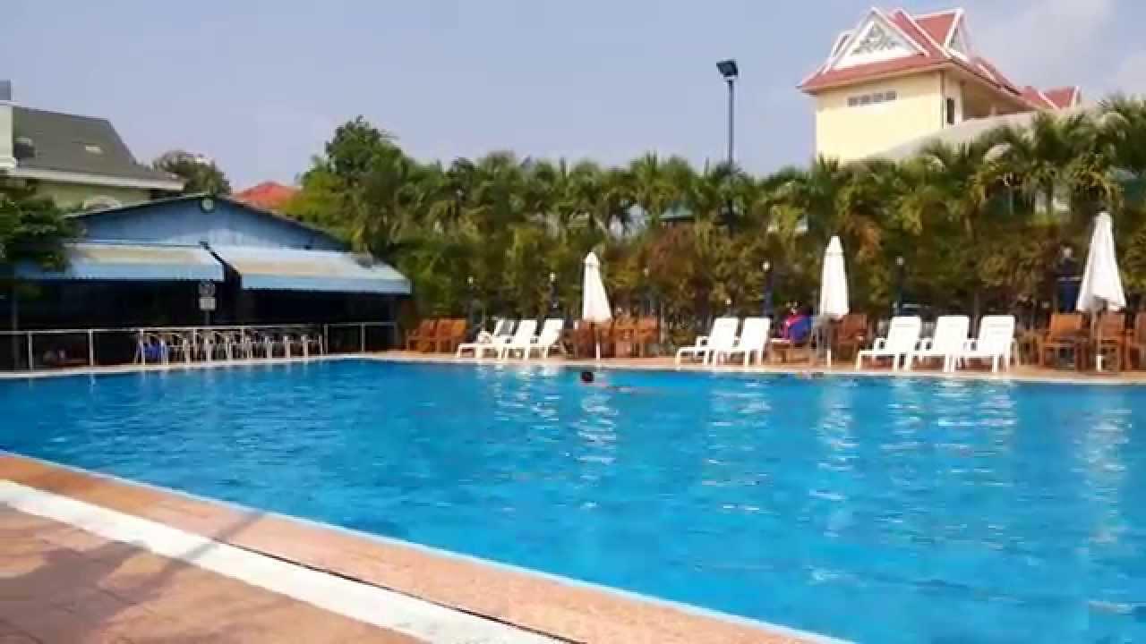 vip sports club swimming pool phnom penh cambodia youtube