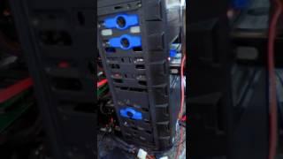 Professional grade hard drive cooling dock