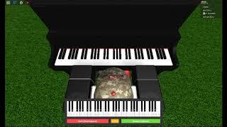 Roblox piano doing stuff