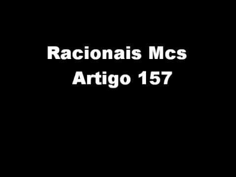 Racionais mcs artigo 157