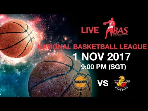 Siglap Basketball Club vs Singapore Xin Hua Sports Club | National Basketball League 2017 🏀