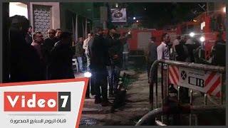 بالفيديو .. محمد نور فى محيط استوديو ليلة بعد تجدد الحريق
