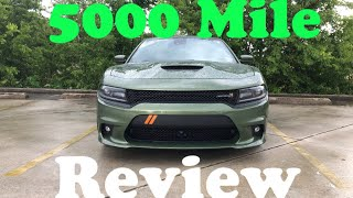5000 Mile Review on my 2018 Dodge Charger Scat Pack