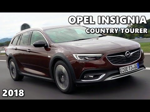 2018 Opel Insignia Country Tourer Brown Youtube