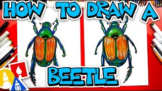 How To Draw A Japanese Beetle