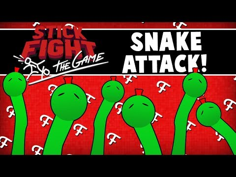 Stick Fight: Black Hole Fun, Snake Gun Attack, Missile Glitch (Multiplayer Gameplay - Comedy Gaming)