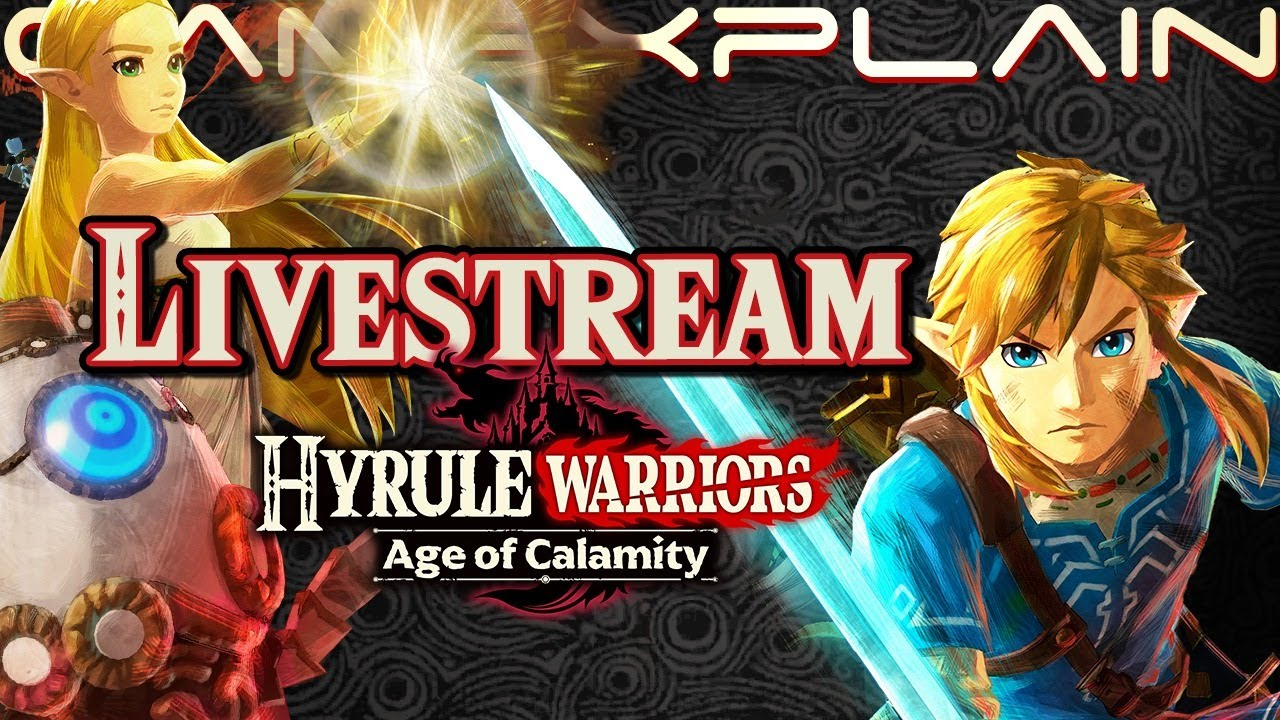 3 Hours Of Hyrule Warriors Age Of Calamity Gameplay Livestream Au Version Out Now Youtube