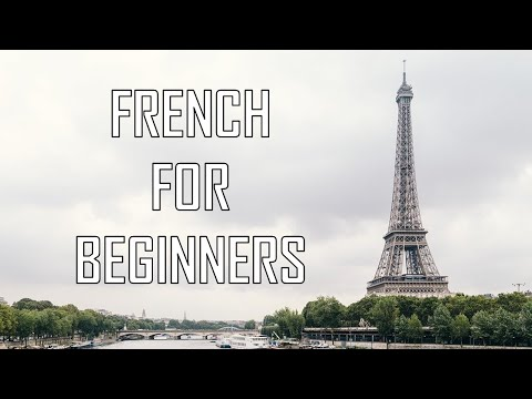 [French lessons] French for beginners