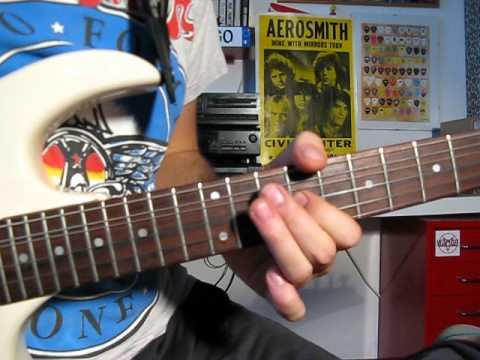 Angel - Aerosmith - GUITAR LESSON - slow