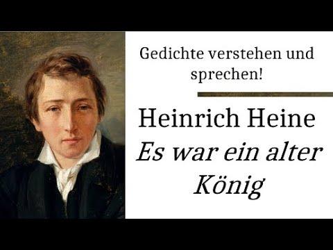 Heinrich Heine: Es war ein alter König (Gedichte-Karaoke 16) Rezitation/Analyse